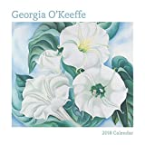 Georgia O keeffe 2018 Mini Wall Calendar