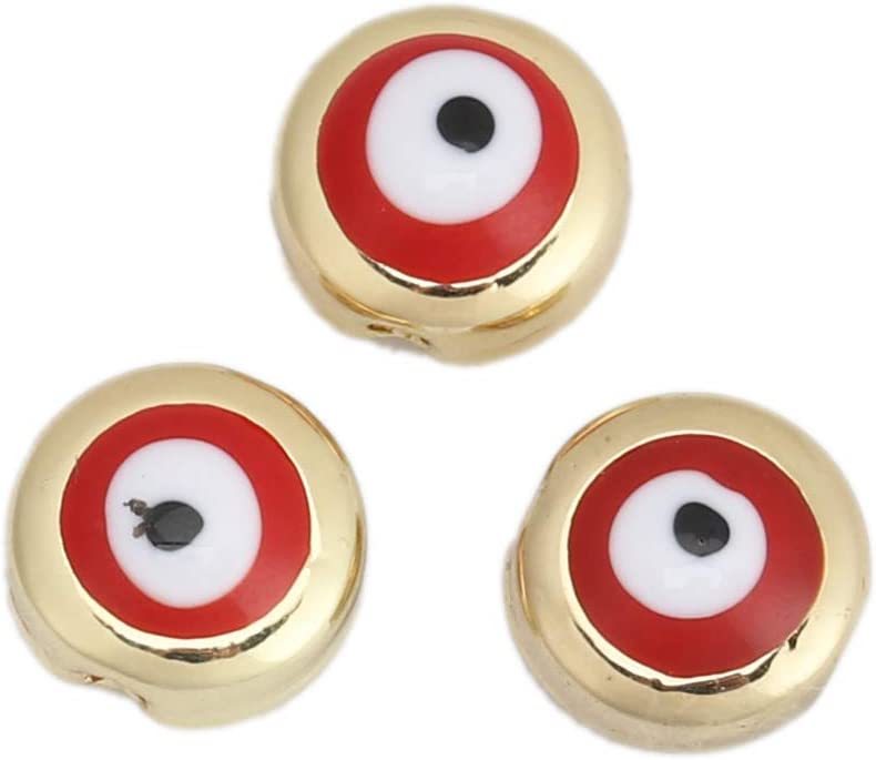 Evil Eye Spacer Bead Charms...