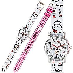 Sanrio Hello Kitty Children's Watches change belt From Japan New