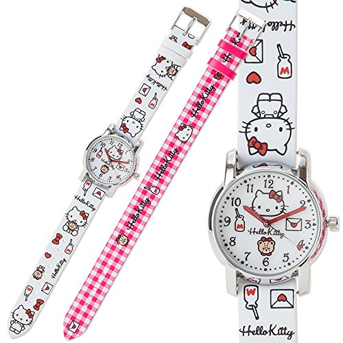 [Sanrio Hello Kitty Children's Watches change belt From Japan New] (Cat In The Hat Costume Nz)