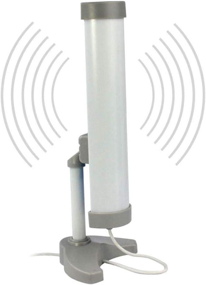5800MW 3 km ZXCV Adaptador WiFi inal/ámbrico con Antena de Clipper USB 58DBI 58DBI de Largo Alcance de Alta Potencia