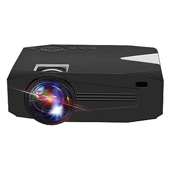 Proyector, 2000 lúmenes Proyector de Video HD 100 Proyector de ...