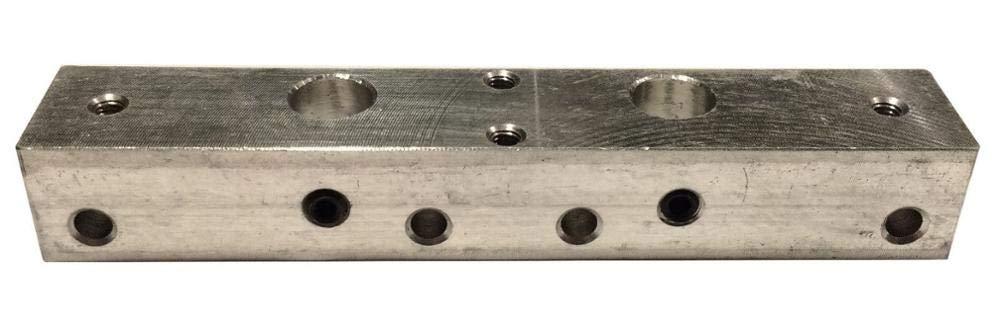 3D Printer - A Wanhao MAKERBOT 3D Printer MK10 Extruder Dual Head Mount Bar Bracket Block Dual Cooling Wanhao D4 D4S Metal Aluminum Bar Mount