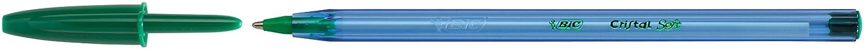 Beutel /à 4 St/ück schwarz BIC Kugelschreiber Cristal Soft 0.35 mm