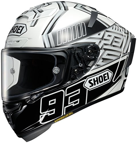 Shoei Marquez 4 X-14 Street Racing Motorcycle Helmet - TC-6 / Large