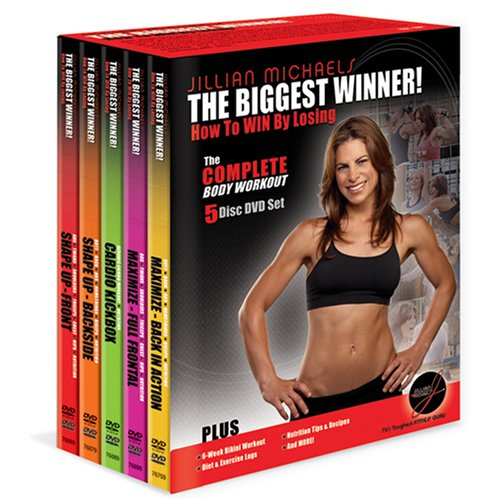 The Biggest Winner: How to Win by Losing - The Complete Body Workout (Shape Up: Front / Shape Up: Back / Cardio Kickbox / Maximize: Full Frontal / Maximize: Back in Action) by WELLSPRING/GENIUS