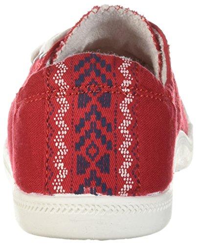 Fille De Madden Baailey Mode Sneaker Toile Rouge
