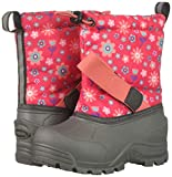 Northside Girls' Frosty Snow Boot, Fuchsia/Coral, 6