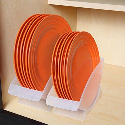 Amazon.com | Home-X 11-Inch Dinner Plate Holder. Holds Plates in Upright Position Plates & Amazon.com | Home-X 11-Inch Dinner Plate Holder. Holds Plates in ...
