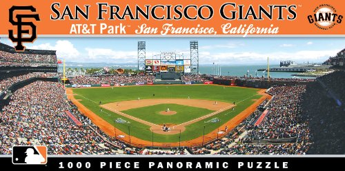 picture of Masterpieces MLB Stadium Puzzle: San Francisco Giants