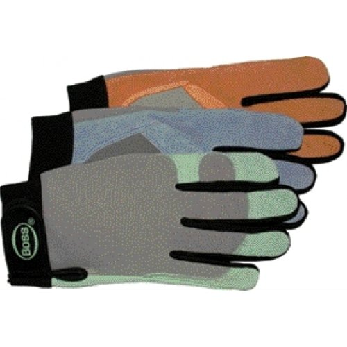 Boss Gloves 790 Ladies' Assorted Boss Guard Split Leather Glove