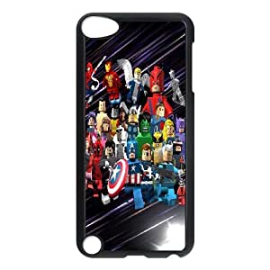 ipod 5 cell phone cases Black Lego Marvel Super Heroes fashion phone cases UTE427232