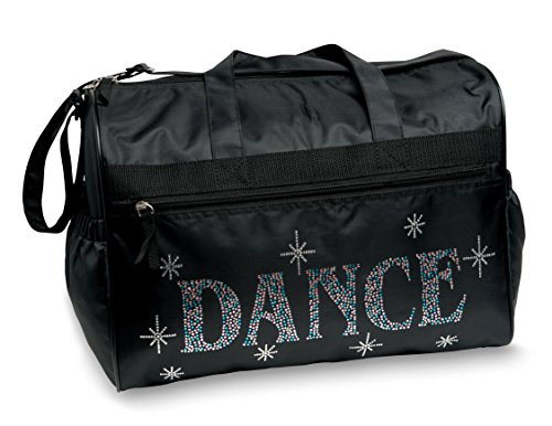 Dansbagz By Danshuz Women's Bling It Dance Bag, Black, OS