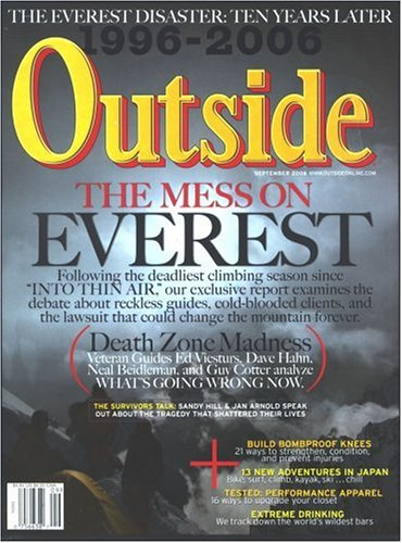 Outside, September 2006 Issue (People Magazine Person Of The Year 2006)