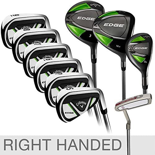 Callaway Edge 10-piece Golf Club Set, Right Handed Stiff Shaft Flex