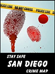 Stay Safe Crime Map of San Diego