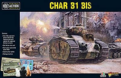 Warlord Games, Char B1 bis, Bolt Action Wargaming Miniatures by Warlord Games