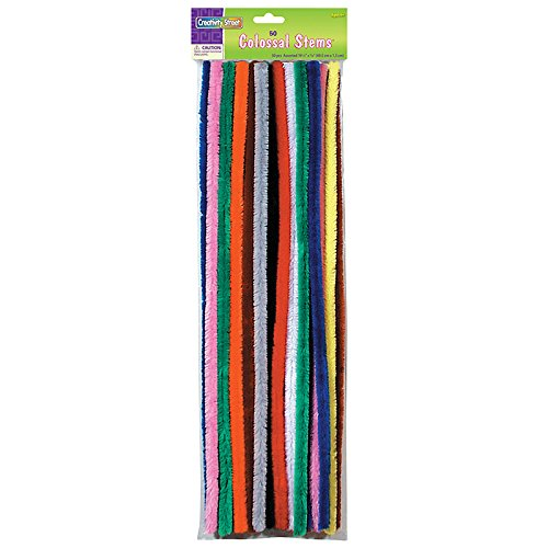 Creativity Street Colossal Stems, 19.5'' x 15 mm, 50 Per Pack, 2 Packs by Creativity Street