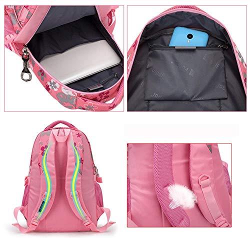 Amazon.com: Floral Printing Children School Bags Backpack for Teenage Girls Boys Teenagers Trendy Kids Book Bag Student Satchel: Kitchen & Dining