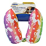 Cloudz Patterned Microbead Travel Neck Pillows - Unicorn
