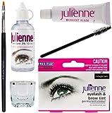Julienne Eyelash Tinting Kit Black 4 Piece