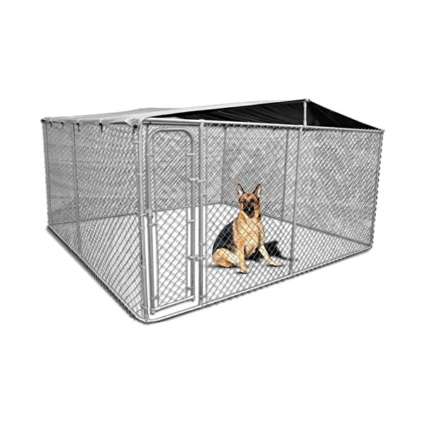 New Pet Dog Kennel Enclosure Playpen Puppy Run Exercise Fence Cage Play Pen A3 Click on image for further info.