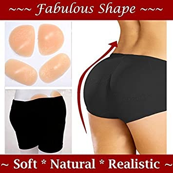 a5a4318c180 Forever Young Premium Silicone Hip Enhancer Pad Panty Butt Enhancer Panty+  Gluteal Size Medium