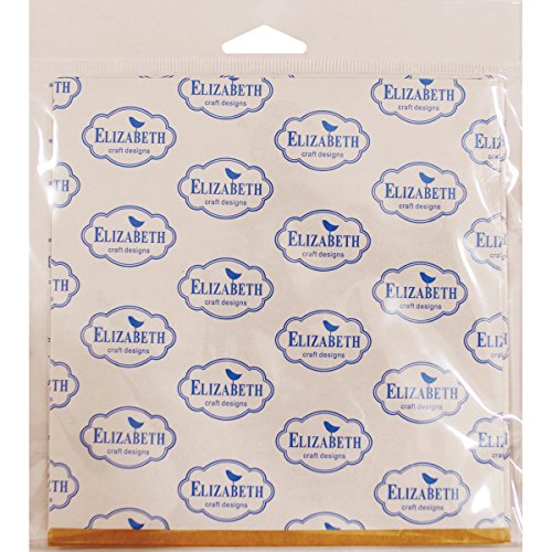 Elizabeth Craft Designs Clear Double-Sided Adhesive, 8.5 by 11-Inch, 5-Pack (Stuff Elizabeth)