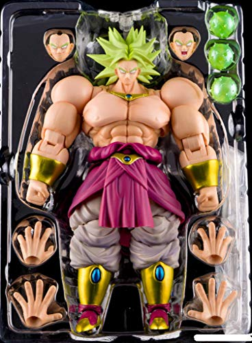 DragonBall Z SDCC 2018 S.H. Figuarts Super Saiyan God SS Broly Event Exclusive Color Edition