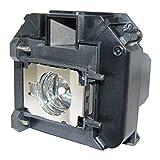 Lutema- Epson ELPLP60 Lámpara de Reemplazo para Televisión de Proyección DLP/LCD Foco (Premium)