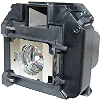 AuraBeam Professional Epson ELPLP60 Projector Replacement Lamp with Housing (Powered by Osram)