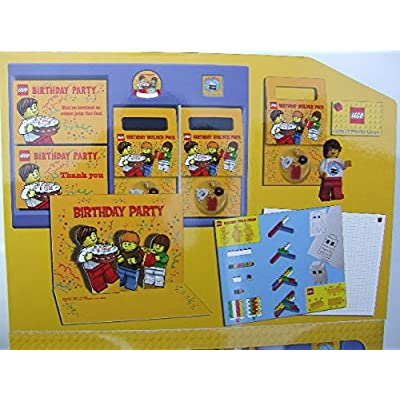 LEGO Set #852998 Birthday Party Kit Materials for 10 Guests!: Toys & Games