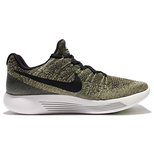2015 new online Nike LunarEpic Low Flyknit Men's Running Shoes Rough Green/Black -Palm Green -Pale Grey free shipping outlet 1GWetPn