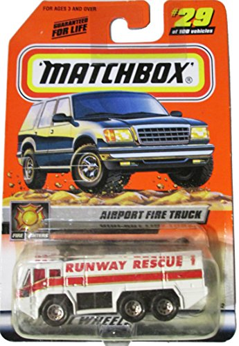 - Matchbox Airport Fire Truck - Runway Rescue 1 - #29
