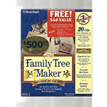 Family Tree Maker Version 8, Deluxe 24-CD Set - The Easiest and Most Complete Resource for Building Your Family Tree (Full Kit)