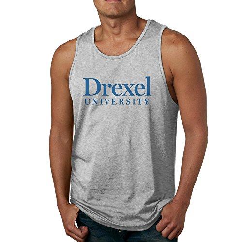 Nubia Mens Drexel Logo University Custom Vest Ash Xl