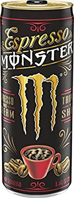 Espresso Monster 8.4 oz Can, Espresso + Energy