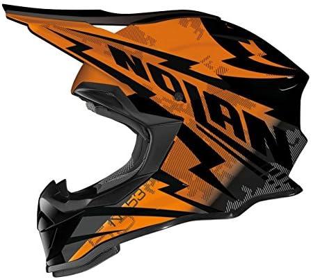 Nolan ノーラン N53 Comp Helmet オフロード ヘルメット ブラック/オレンジ S(55~56cm)