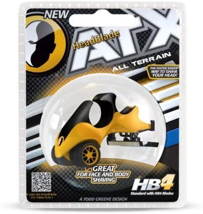 ATX All Terrain Cuero Cabelludo razor-headblade: Amazon.es: Salud ...