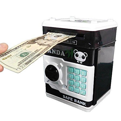 Stylebeauty Cartoon Electronic Password Piggy Bank Cash Coin Can PANDA