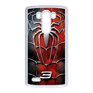 DIY Printed Spider-Man hard plastic case skin cover For LG G3 SN9V992032