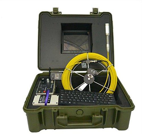 Videocámara sumergible GOWE inspección tuberías fugas detector 23 mm cabeza de cámara y 20 m de cable del Sensor: 0,64 cm ; Resolución Horizontal: 480TVL; ...