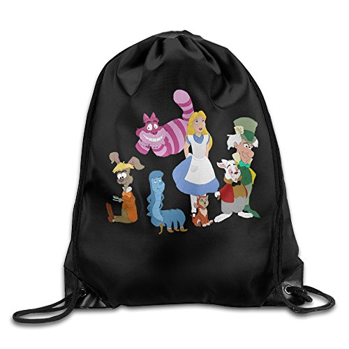 [Alice In Wonderland New Design Backpack One Size] (Peter Pan Cast Costumes)