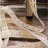 """1/2"""" Crochet Lace Cotton Ribbon Trim Pattern Gift"""