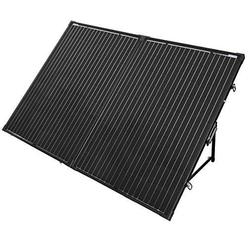 Lcd Latch Kit (200 Watt Foldable Solar Panel Kit, ACOPower 12V Battery Ready Kit, Easy Set Up and Portable)