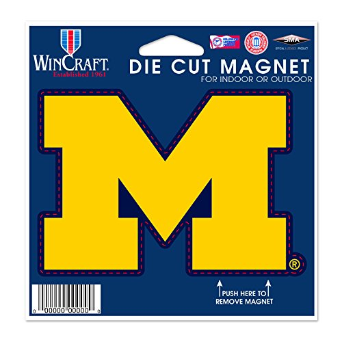 sity of Michigan Die Cut Magnet, 4.5