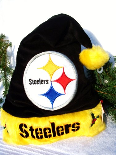 ... discount code for santa hat steelers pittsburgh steelers nfl pittsburgh  steelers plush 38363 1441d 5a52bfd9b