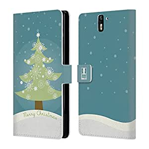 Head Case Designs Tree Mix Christmas Collection Leather Book Wallet Case Cover For BlackBerry Classic Q20