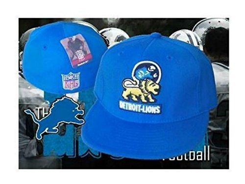 Genuine Merchandise Detroit Lions Vintage Throwback Logo Fitted Size 7 5/8 Hat Cap