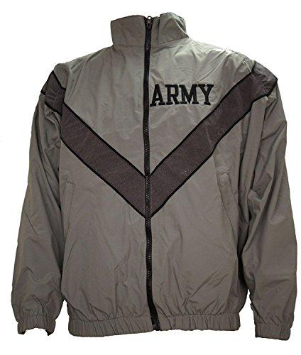 US Army PT Jacket Old Style Gray M (Medium Short)